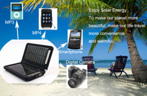 Portable Multi-Function Intelligent Digital Solar Charger