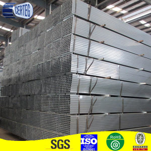 Pregalvanized Welded 40X60 Gi Rectangular Pipe for Structure pictures & photos