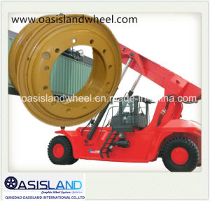 (24-10.00/1.7 25-13.00) Port Wheel for Container Stacker pictures & photos