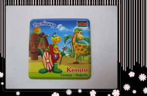 Soft PVC Cartoon Fridge Magnet (HB-FM-0009)