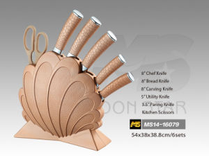 PP Handle Kitchen Knife (MS14-16079) pictures & photos