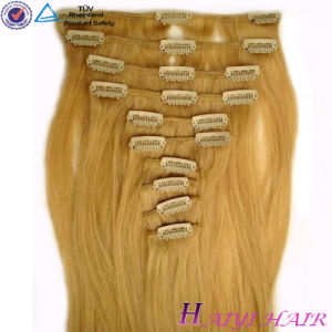 Top Quality Human Remy Hair Clip in Extension