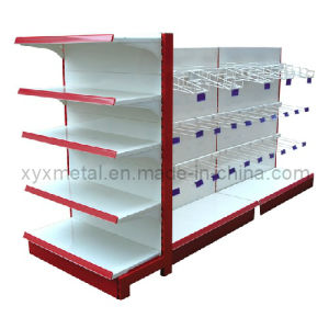 Promotion Steel Frame Supermarket Hanging Goods Display Shelving Rarks pictures & photos