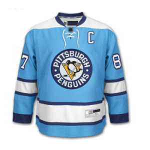 Custom Made Ice Hockey Jerseys Sublimation/Tackle Twill/Embroidered Hockey Jersey