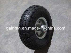Penumatic Rubber Wheel 10 Inch 10*350-4-1