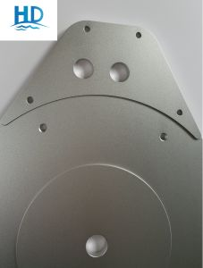 China Supply Sand Blasting Oxidized CNC Machining Kitchen Hardware Parts (Aluminum) pictures & photos