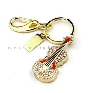 Violin Jewelry USB Flash Drive