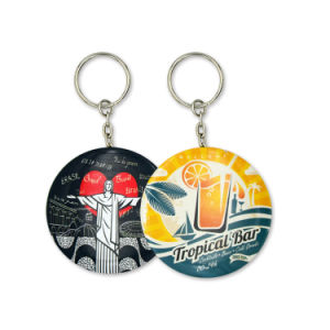 Factory Direct Wholesale Custom Key Chain Mirror pictures & photos
