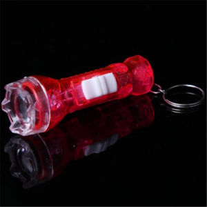 LED Light up Flashing Mini Torch with Logo Printed pictures & photos
