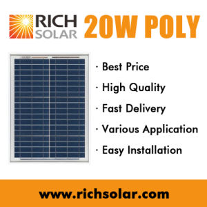 20W Solar Cell Polycrystalline Solar Panel Solar System pictures & photos