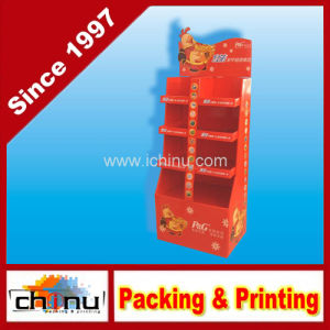 New Year Promotion Paper Corrugated Board Pallet Display (6217) pictures & photos