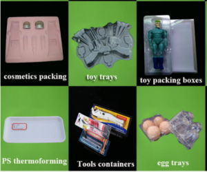 Disposable Plastic Food Container Machine Thermoforming pictures & photos