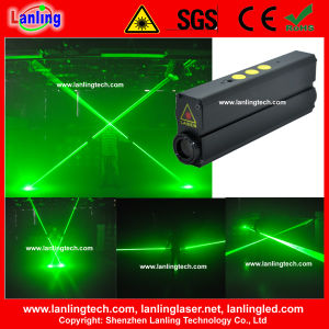 100mw+100mw Green Laser Man Show Laser Pen pictures & photos