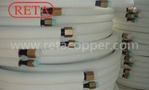 Insulation Copper Pipe with Nuts for Connecting pictures & photos