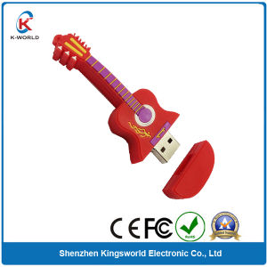 Charming PVC Guitar USB Memory pictures & photos