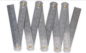 Stainless Steel Folding Ruler