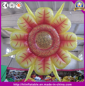 Giant Artificial Inflatable Sunflower for Ceiling Decoration