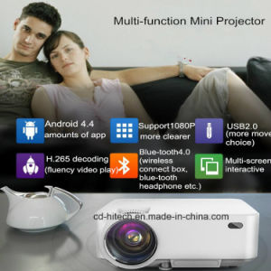 Android 4.4 Mini LCD 3D Projector