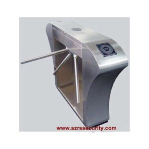 Double-Lane Entrance Access Waist Height Tripod Turnstile
