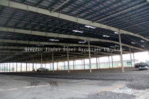 Prefabricated Steel Frame for Workshop, Warehouse