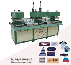 Anti Slip Stockings Silicone Brand Shaping and Molding Machine pictures & photos