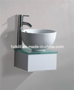 Ceramic Basin Wall Mounted Bathroom Furniture China