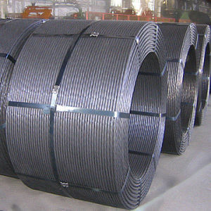 7wire ASTM A416 High Strength Prestressed Concrete Steel Strand pictures & photos