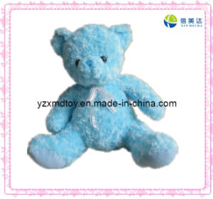 Cute Blue Bear Soft Stuffed Baby Toy pictures & photos