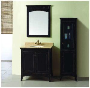 Solid Wood Bathroom Cabinet (MY-7300)