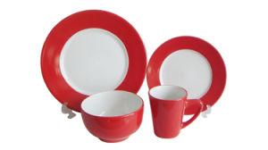 16PCS 20PCS Ceramic Stoneware Solid Color Glazed Dinner Set (6160012) pictures & photos