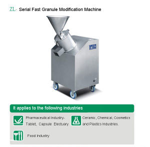 Serial Fast Granule Modification Machine (ZL-160/300) pictures & photos