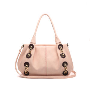 Fashion Chain Decorated Satchel Women Bag (MBNO043032) pictures & photos