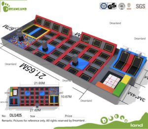 New Design Indoor Trampoline Park with High Qulaity pictures & photos