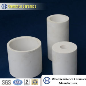 High Temperature Resistant Calcined Alumina Cylinder Pipe Liner pictures & photos