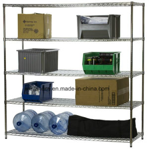 NSF Heavy Duty Chrome Steel Warehouse Storage Stacking Rack pictures & photos