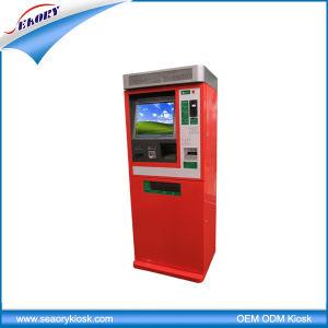 Factory Price Outdoor Cash Payment Kiosk, Parking Lot Payment Kiosk pictures & photos