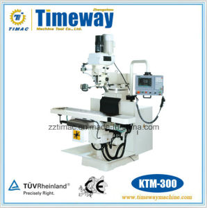 Vertical Knee-Type Turret CNC Milling Machine pictures & photos