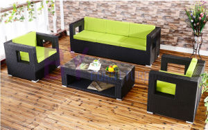 Fashion PE Rattan Furniture Sofa Set pictures & photos