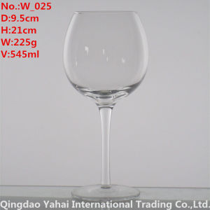 545ml Clear Colored Brandy Wine Glass pictures & photos