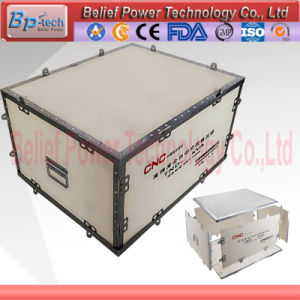 Folded Plywood Packaging Custom-Made Wooden Packaging Box pictures & photos