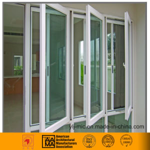 Heat Insulation Aluminum Casement Window (outward/inward opening) pictures & photos