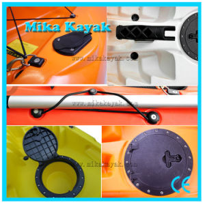 Plastic Sea Power Fishing Kayak Baratos Sail Boat Canoe Wholesale pictures & photos