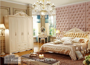 Classical White Color Bedroom Furniture (HF-MG815) pictures & photos