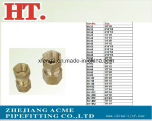 American Brass Flare Comp Female Connector Fitting with Nut pictures & photos