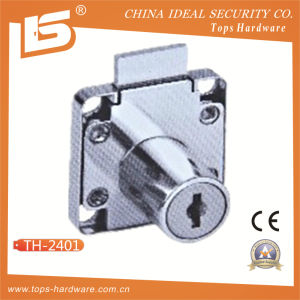 Furniture Security Brass Key Zinc Alloy Drawer Lock pictures & photos