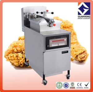 Pfe-800 Gas Pressure Fryer with Oil Pump/Large Capacity Electric Deep Pressure Fryer/Timeproof Turkey and Chicken Pressure Fryer pictures & photos