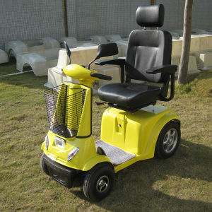 Hot Sale 4 Wheel Electric Scooter for Disabled (DL24800-3) pictures & photos