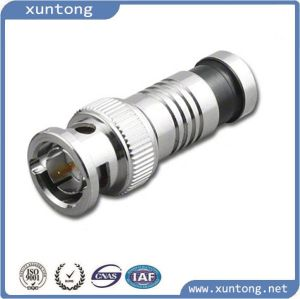 High Quality CCTV 75ohm Waterproof BNC Connector pictures & photos