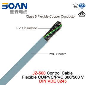 Jz-500, Control Cable, 300/500 V, Flexible Cu/PVC/PVC (DIN VDE 0245) pictures & photos