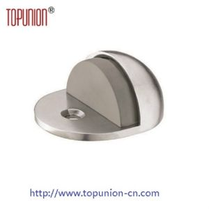 Floor Mounted Ss304 Door Stopper with Rubber (DS001) pictures & photos